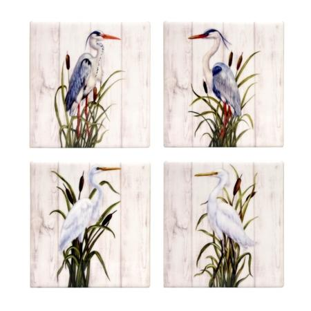 Cranes Coaster <br> Set of 4