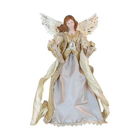 Fabric Champagne Angel Tree Topper