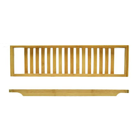 Bamboo Bathtub Rack