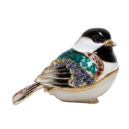 Trinket Box Bird Teal