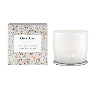Circa Home Kitchen Range White Tea & Wild Mint Candle