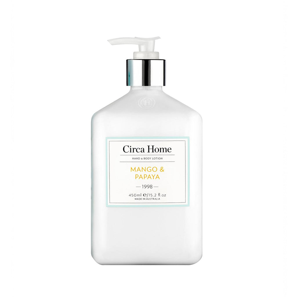 Circa Home <br> Mango Papaya Hand Body Lotion 450ml