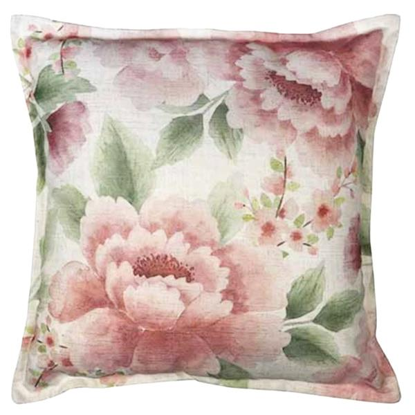 Camilla Blush/Green Cushion 50cm