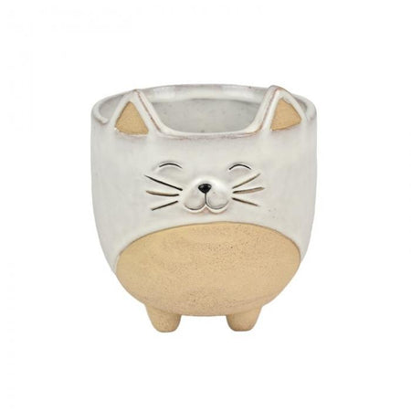 Connie Cat Ceramic Pot Large
