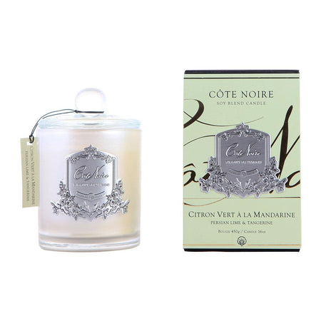 Cote Noire Persian Lime & Tangerine Silver Candle 450g