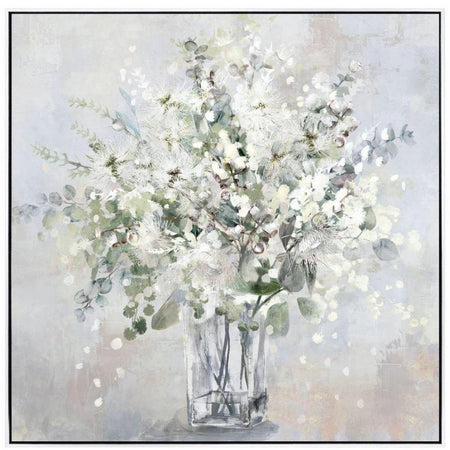 White Bloom Painting