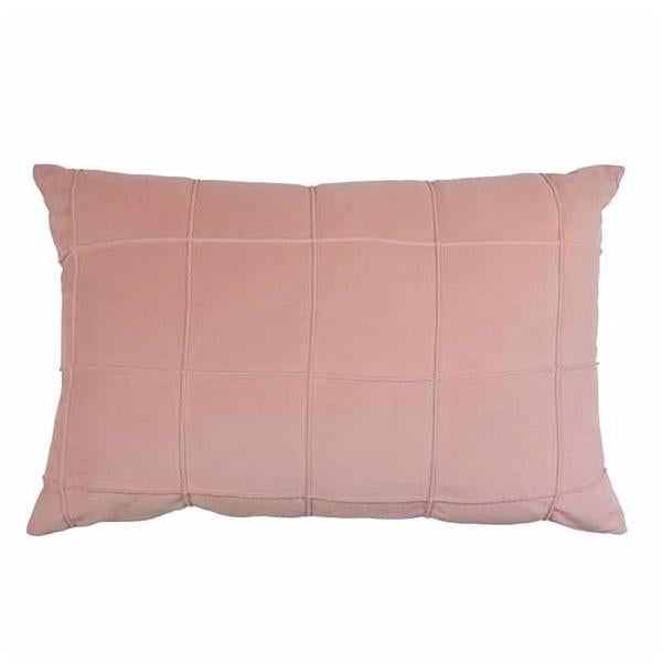 Seattle Pink Velvet Cushion 40x60cm