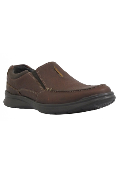 Clarks Cotrell Free Tobacco Leather