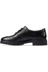 Clarks Loxham Brogue Youth black
