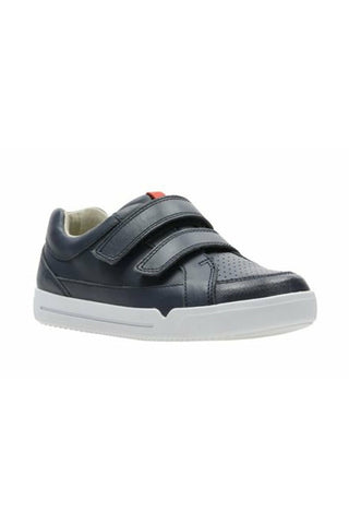 Emery Walk K Navy Leather