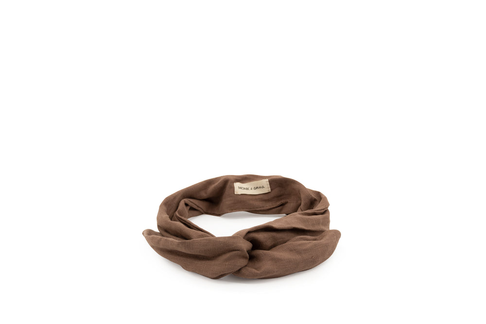 Load image into Gallery viewer, Monk & Anna Headband • cacao
