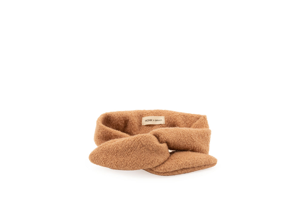 Monk & Anna Headband wool • cashew