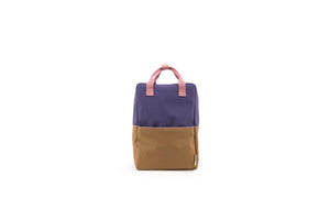 Sticky Lemon reppu -large backpack colour blocking- lobby purple