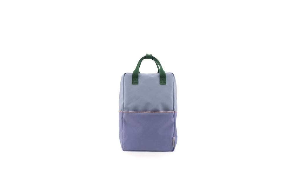 Sticky Lemon reppu -large backpack colour blocking- heckles blue