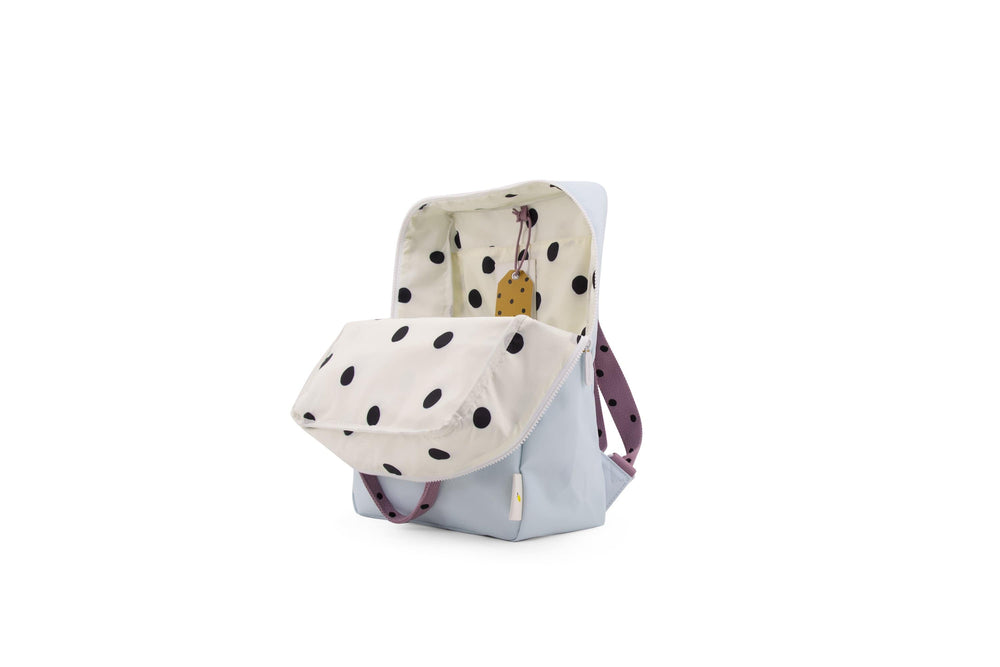 Sticky Lemon reppu -large backpack freckles- sky blue