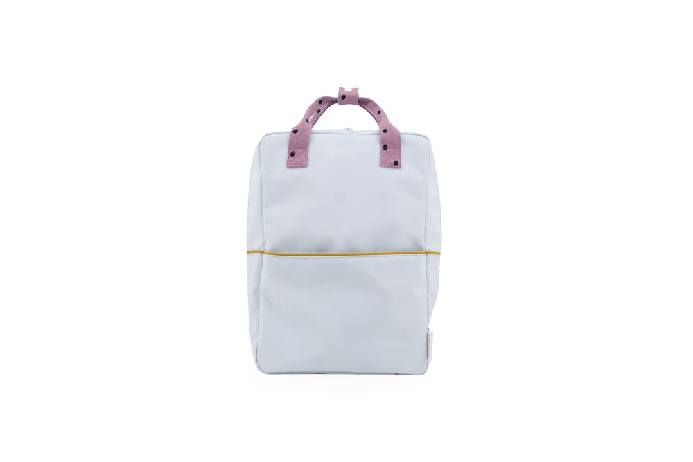 Load image into Gallery viewer, Sticky Lemon reppu -large backpack freckles- sky blue