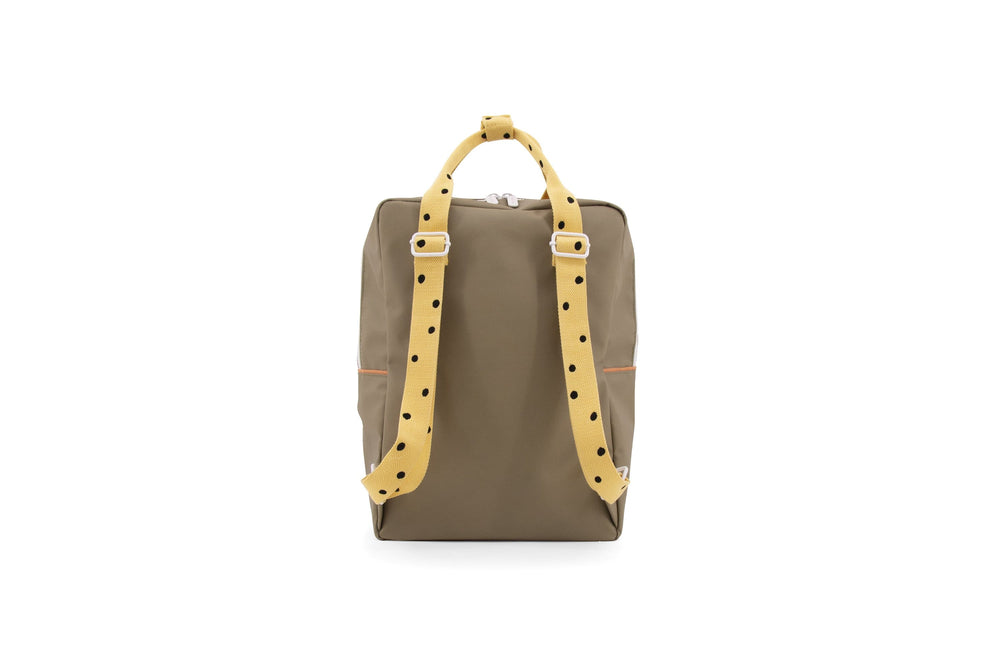 Sticky Lemon reppu -large backpack freckles- seventies green