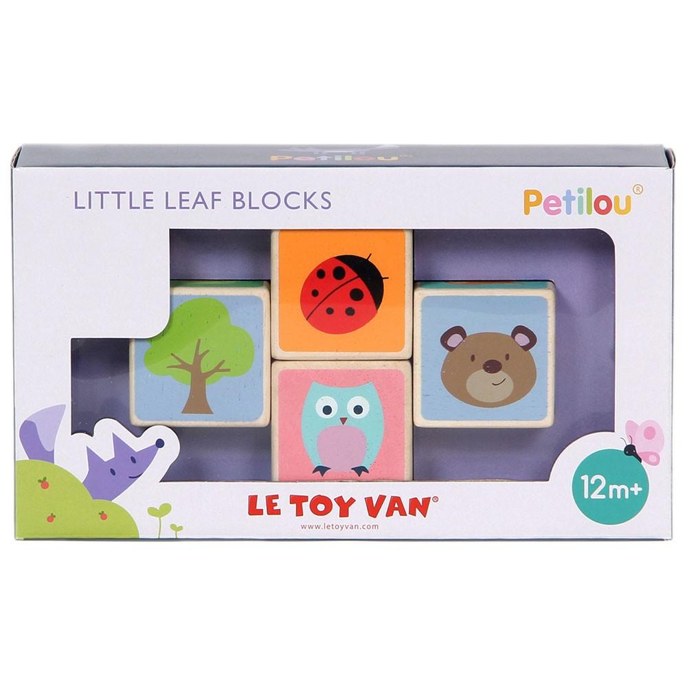 Load image into Gallery viewer, Petilou - Little Leaf Blocks Le Toy Van