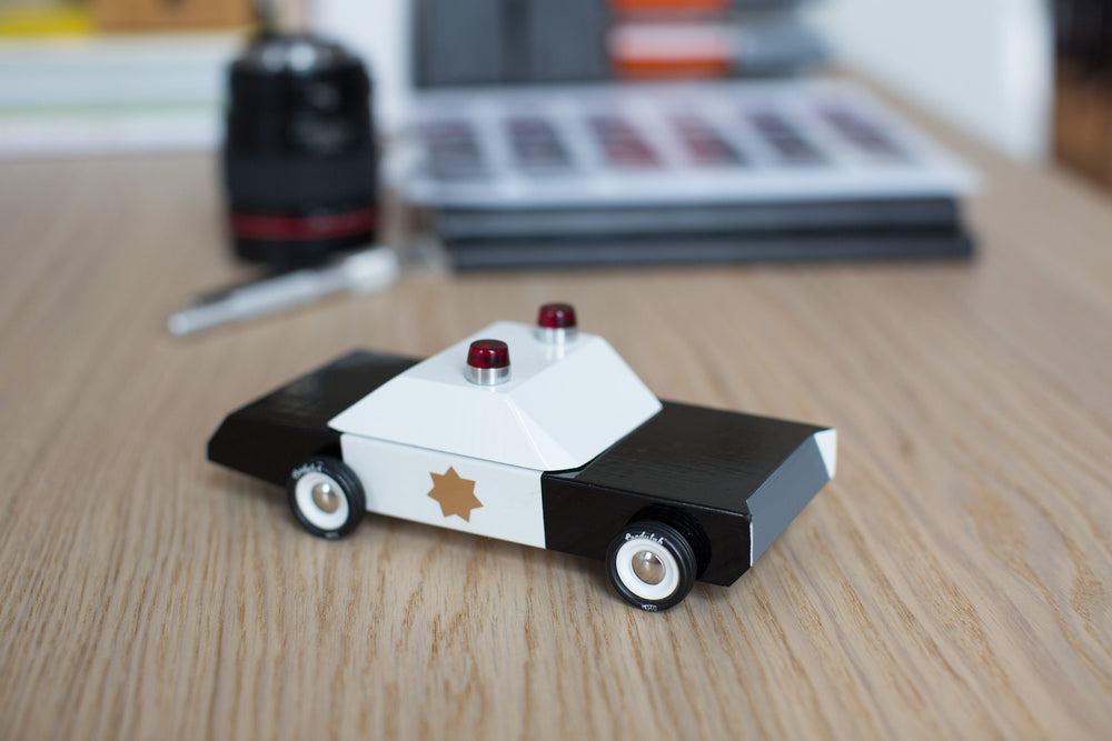 Load image into Gallery viewer, Candylab Toys Police Cruiser