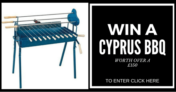 Win a Cyprus BBQ Charcoal Rotisserie Set