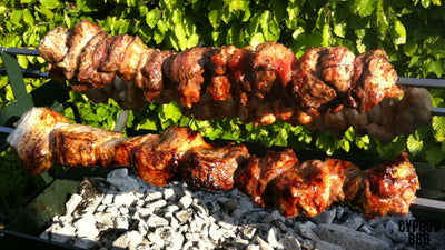 The Original and Authentic Cyprus Rotisserie Charcoal BBQ