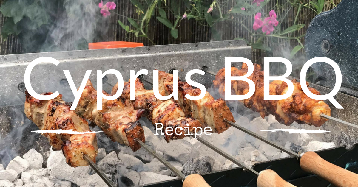 Belly Pork Souvlaki Cyprus Kebab