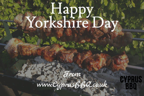 Happy Yorkshire Day from all the team Cyprus BBQ