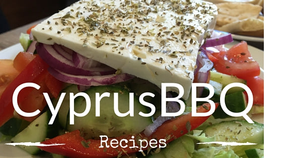 Cyprus BBQ Greek Salad Recipe