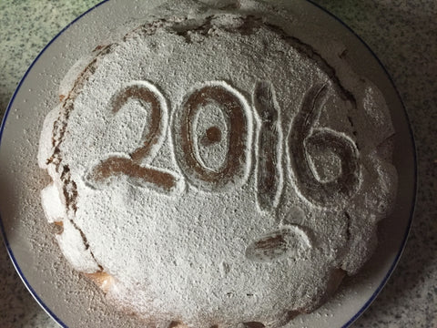 Traditional Greek Cypriot Vasilopita Cake - Happy 2016