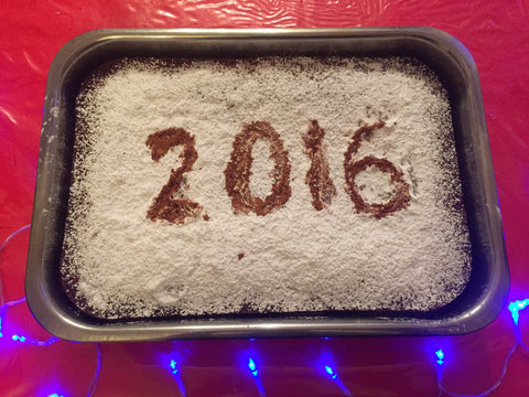 Happy 2016 Vasilopita New Years Cake