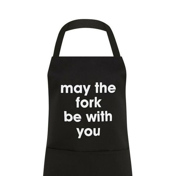 Apron - BBQ Apron - May The Fork Be With You