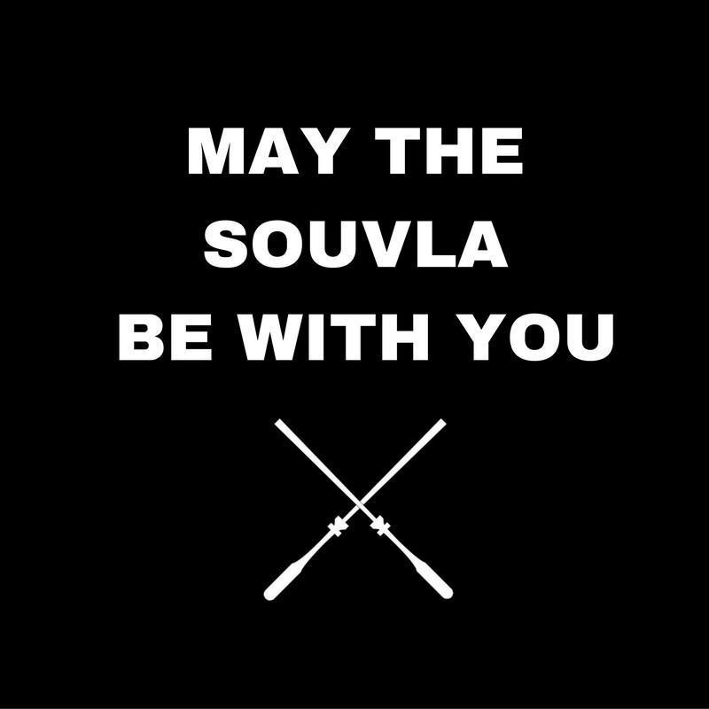 Apron - BBQ Apron - May The Souvla Be With You