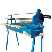BBQ Set - Traditional Foukou Large Charcoal Rotisserie Barbecue - Blue