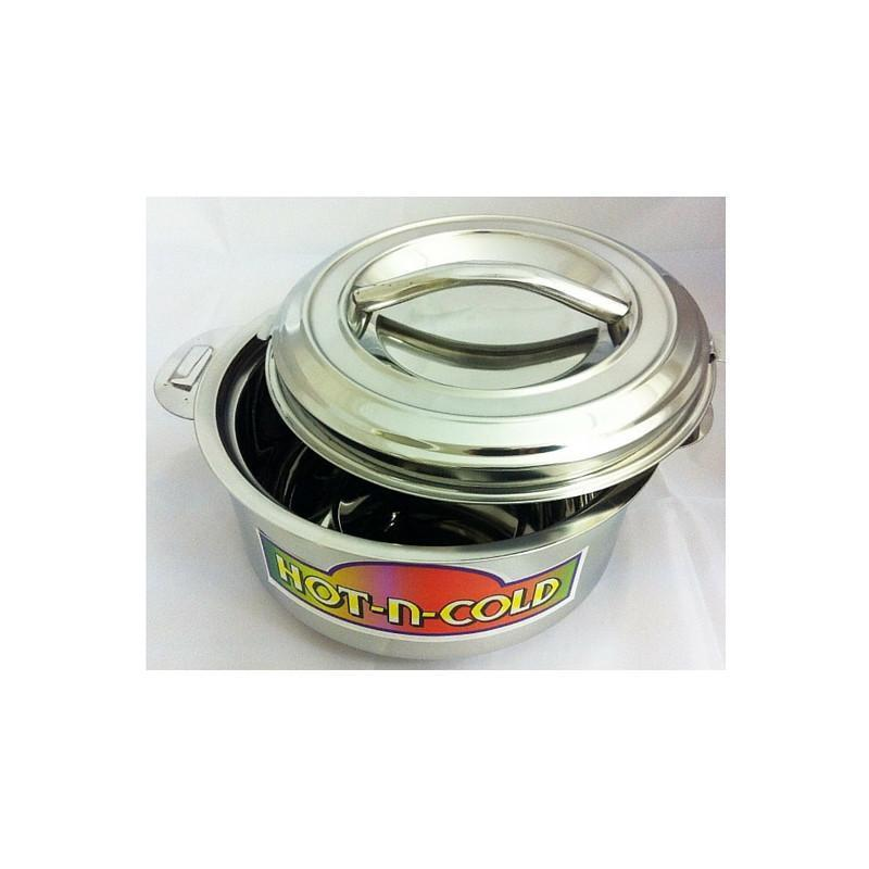 Hot Pot - Stainless Steel 3.5 L Insulated Hot N Cold Pot Perfect For Serving Or Storing Food