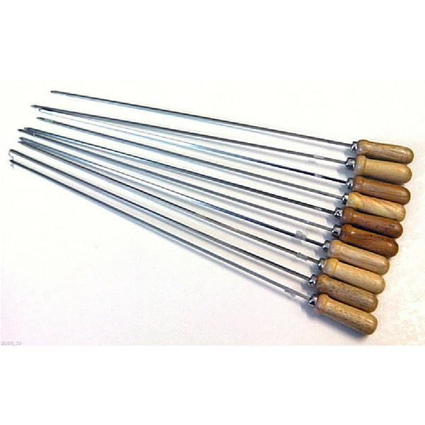 Skewer - Souvlaki Kebab Skewers for the Blue Cypriot BBQ - 10pack Skewer CyprusBBQ