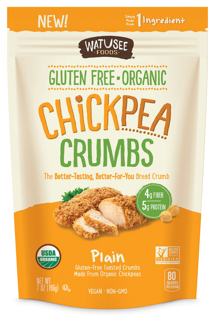Organic Chickpea Crumbs: 7 oz. 10-Pack
