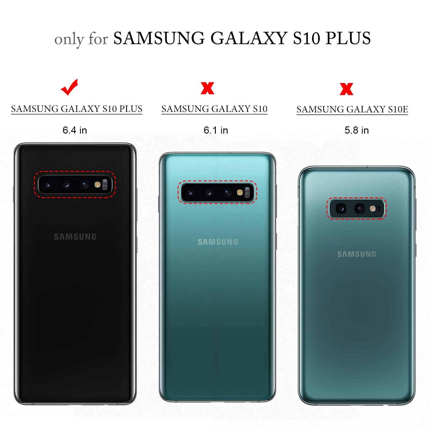 Twill Shock Proof Soft Flexible Back Case Cover for Samsung Galaxy S10 Plus - Black - Mobizang