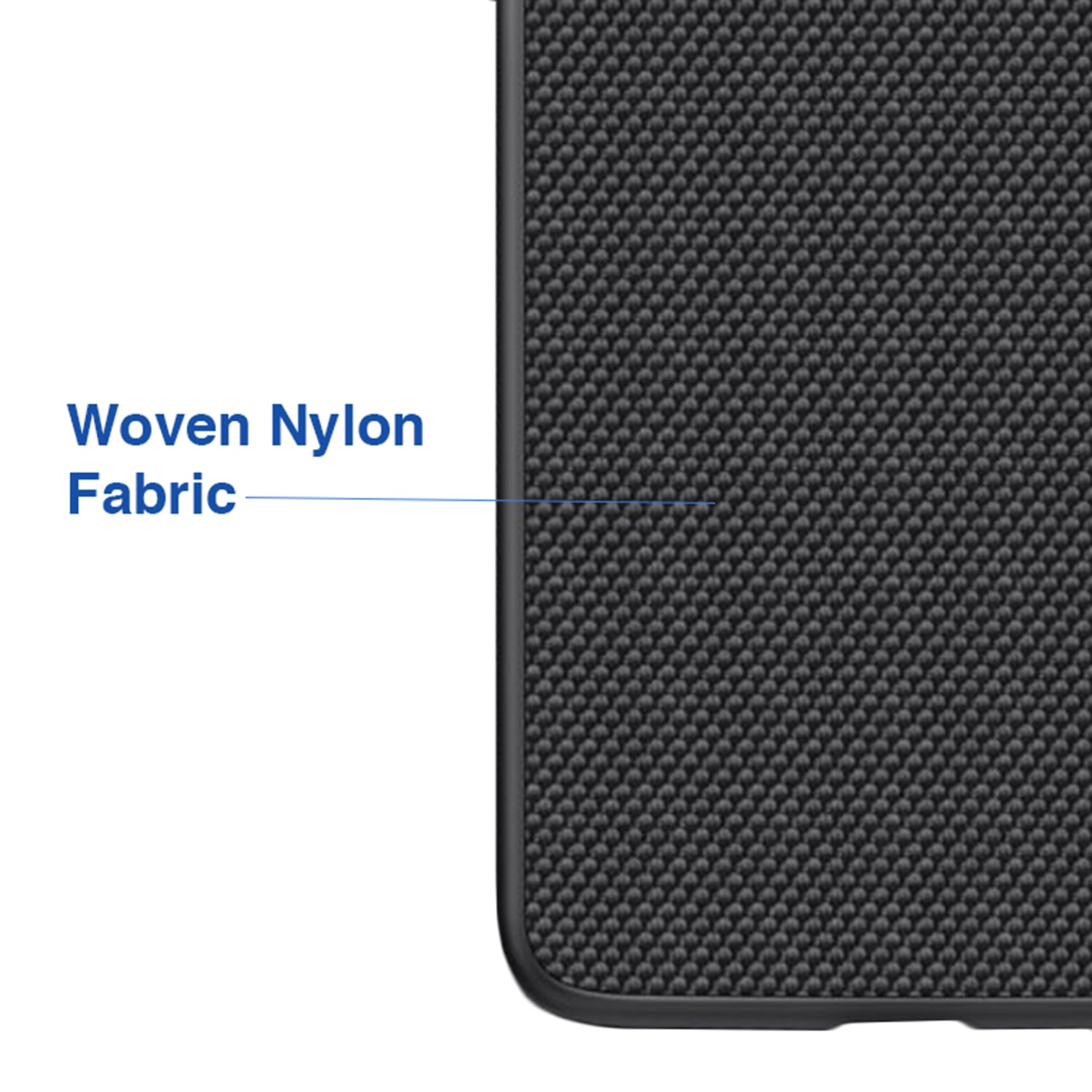 Woven Nylon Anti Slip Shock Resistant Luxury Case for Apple iPhone X / XS - Mobizang
