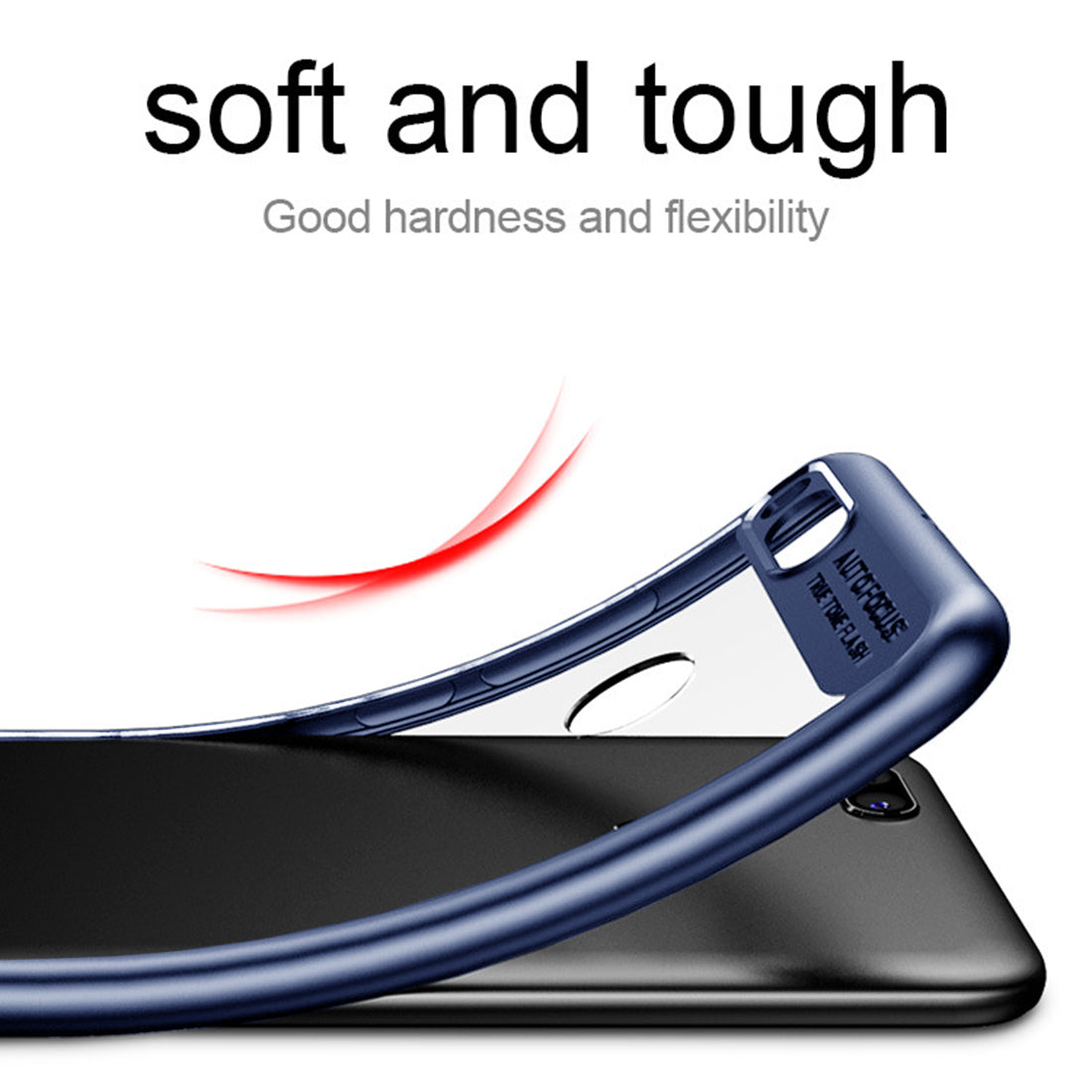 size 40 8616f 9c9ea Lens Protector Clear Back Case Cover for Xiaomi Mi A1 - Blue – Mobizang