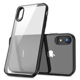 Hawkeye Clear Hard Back Camera Lens Protector Shock Proof Case Cover for Apple iPhone XR - Mobizang
