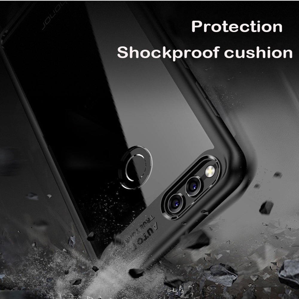 Lens Protector Clear Back Case Cover for Honor 7X - Mobizang