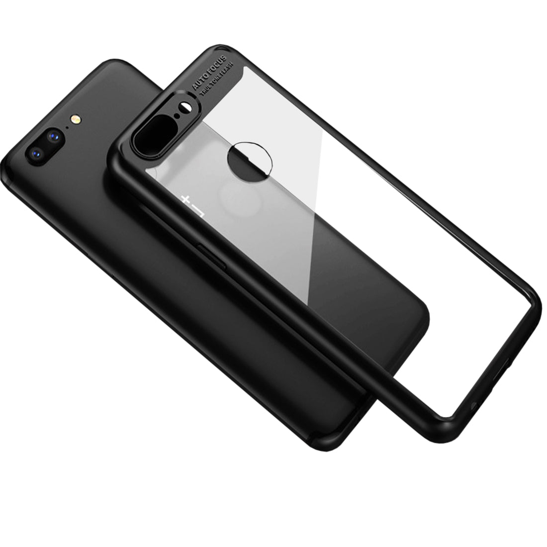 Lens Protector Clear Back Case Cover for ONEPLUS 5T or ONEPLUS 5 (Choose Model Below) - Mobizang