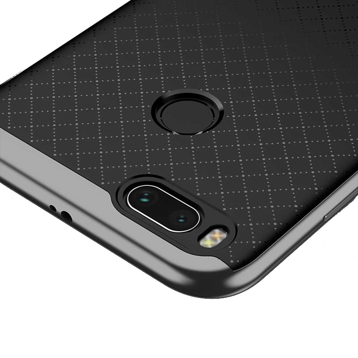 Ipaky Hybrid Ultra Thin Shockproof Back Bumper Case Cover For Xiaomi Redmi Note 4 Mi A1 Grey