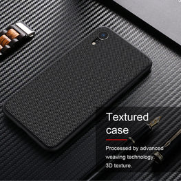 Woven Nylon Anti Slip Shock Resistant Luxury Case for Apple iPhone XR - Mobizang
