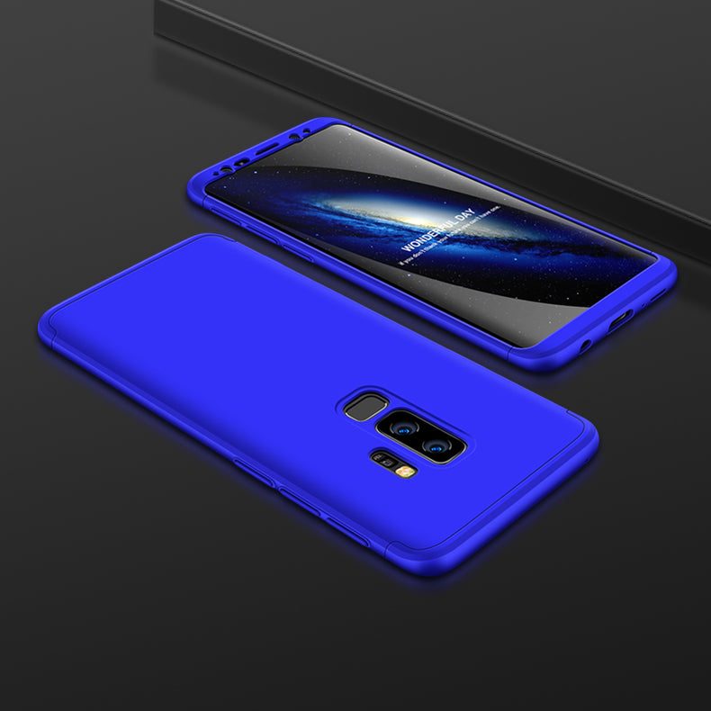3 in 1 - 360° Full Protection Body Case Cover for Samsung Galaxy S9+ (PLUS) -  Blue - Mobizang