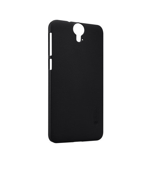 Nillkin Frosted Shield Hard Back Case Cover for HTC One E9+ PLUS with Screenguard - Black - Mobizang