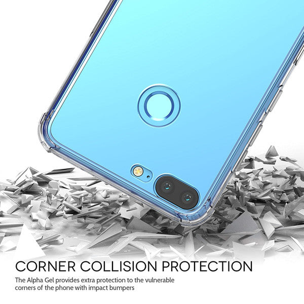 Shock Proof Air Bag Cushions Flexible Transparent Back Case Cover for Huawei Honor 9 LITE - Mobizang