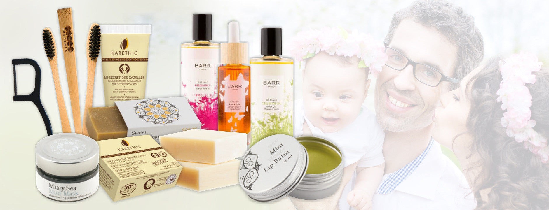natural body care products fror the family