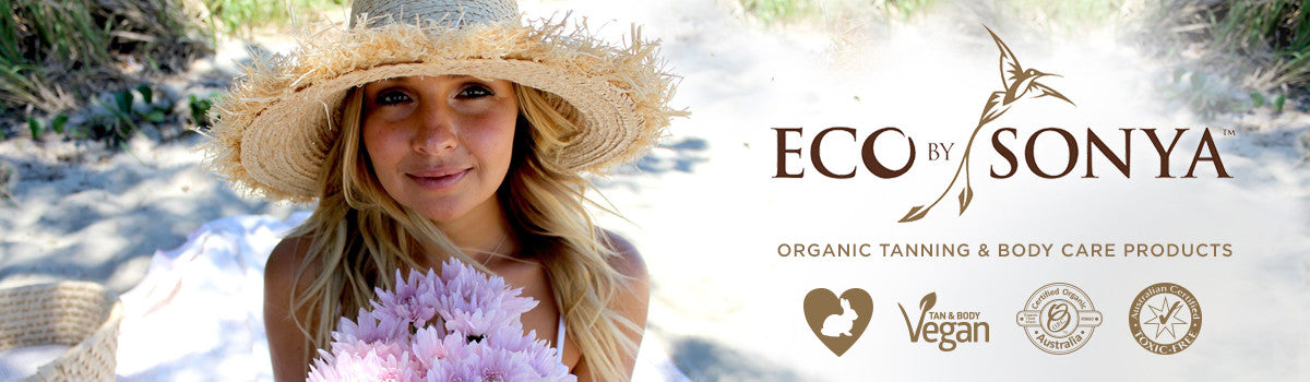 Eco By Sonya Organic Tanning products