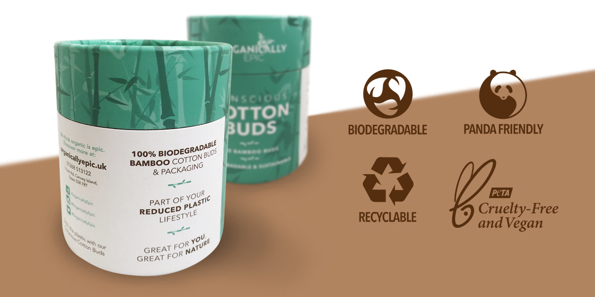 biodegradable bamboo cutton buds